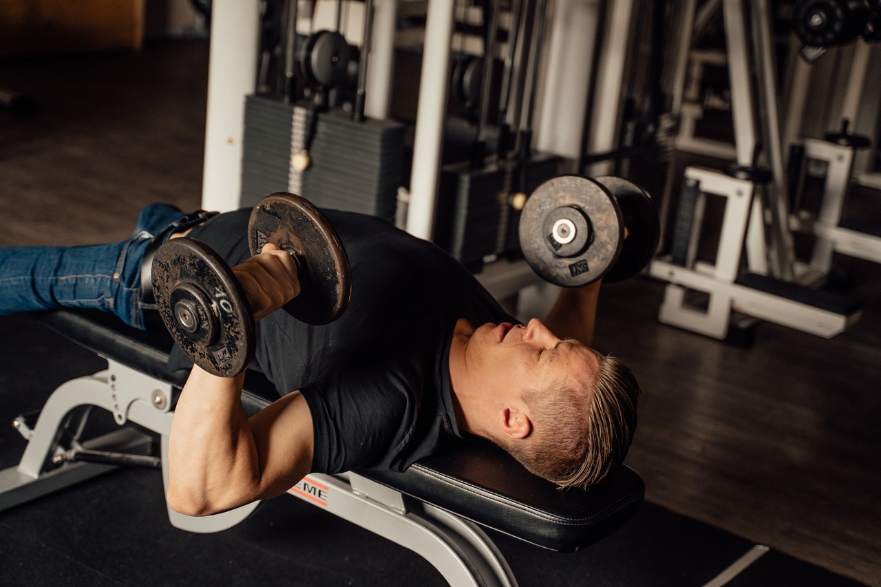 How to burn chest fat - chest exercises