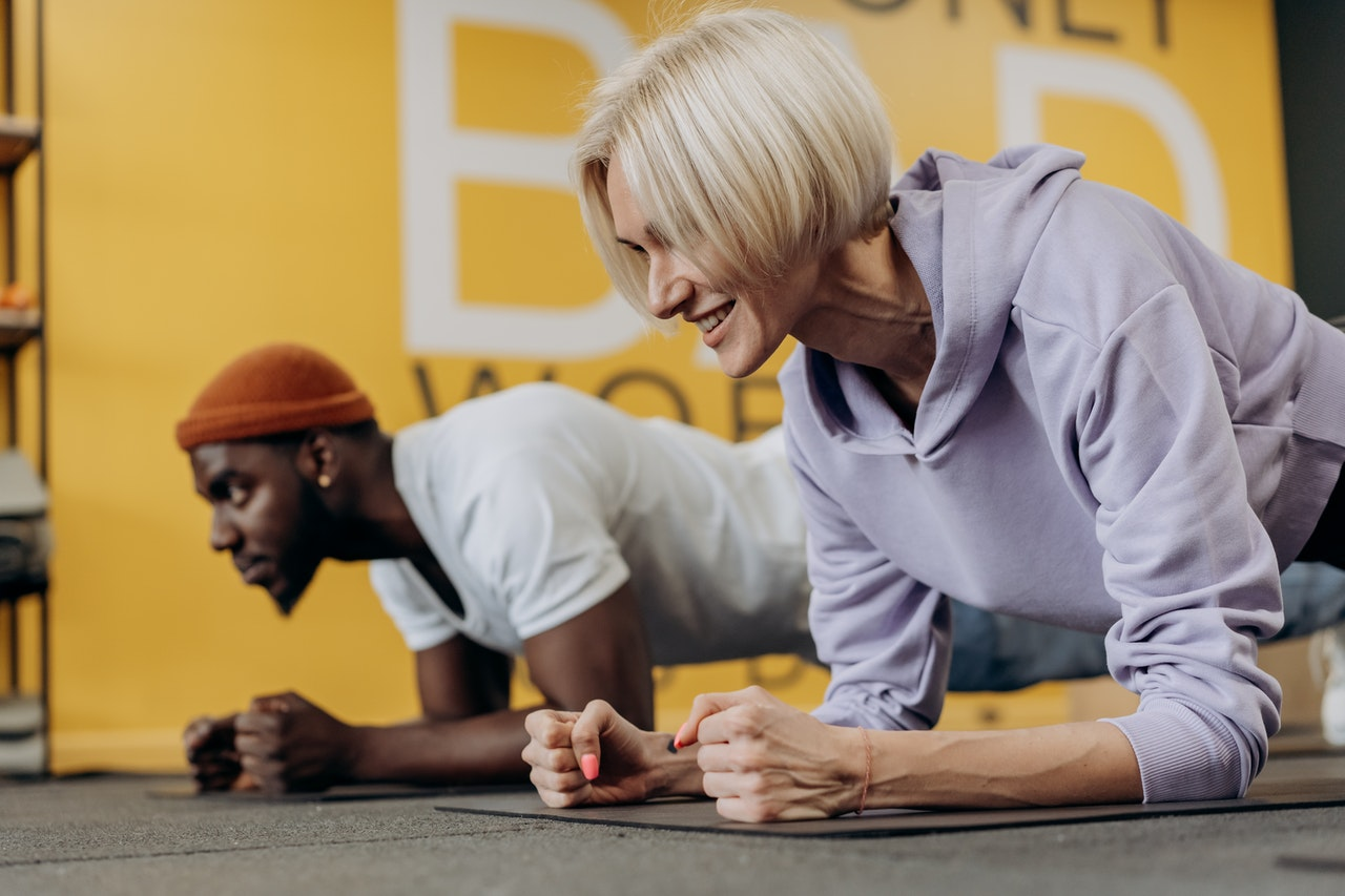 Exercise to build a positive body image