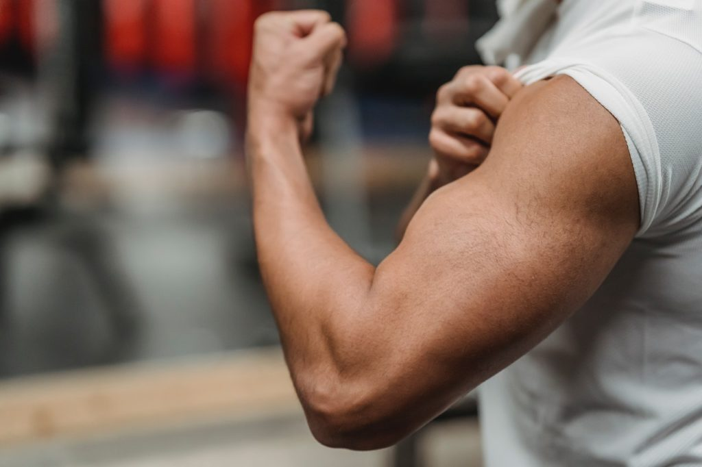 Does muscle burn fat
