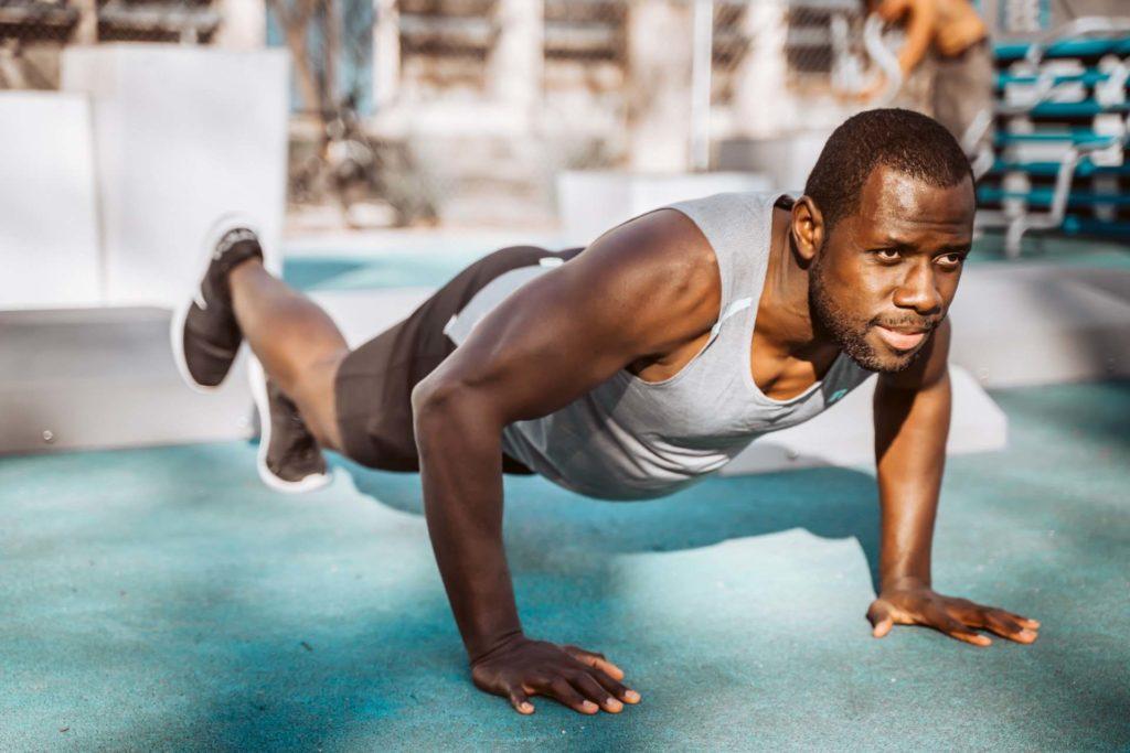 Bodyweight exercises - Push Ups