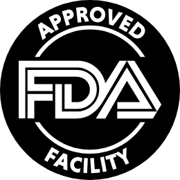Regulated, endored and verified by the FDA